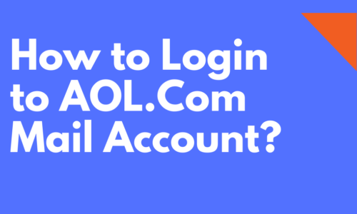 How to Login to AOL.Com Mail Account?