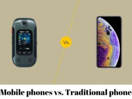 Mobile phones vs. Traditional phones