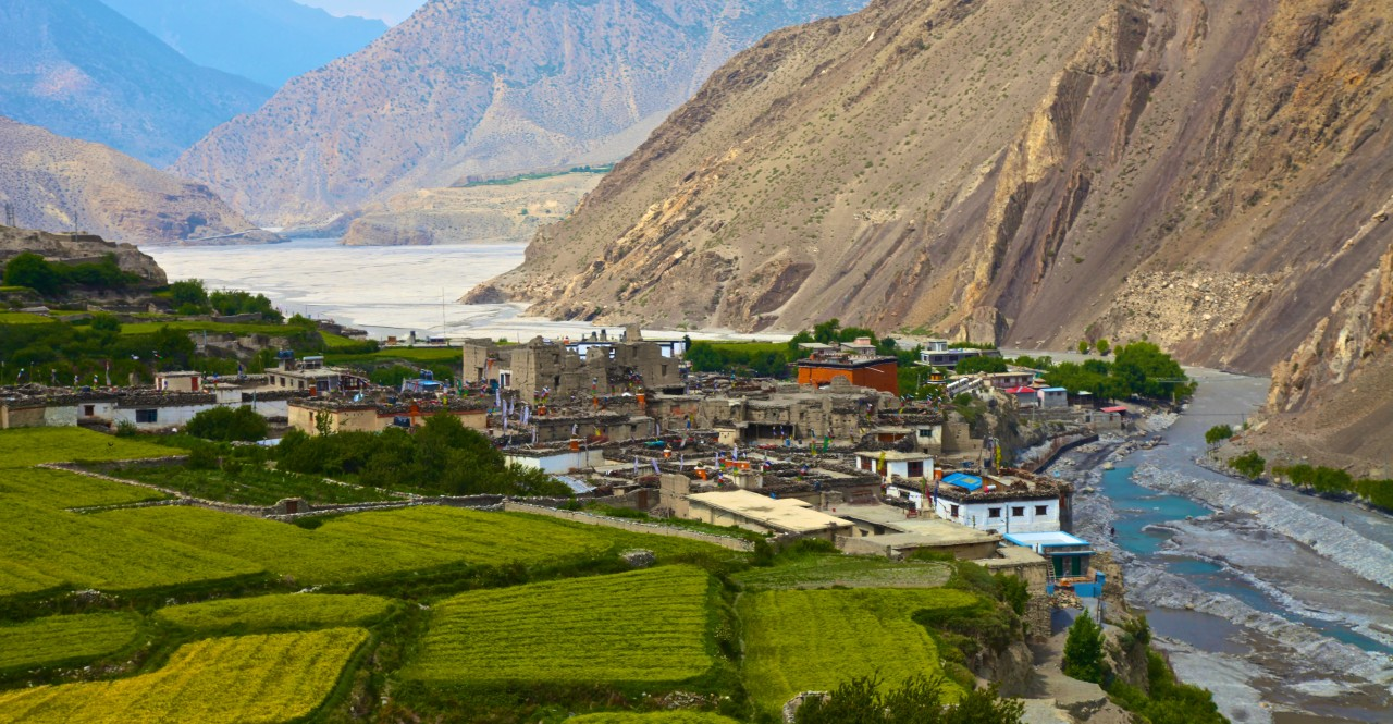 Why is the upper Mustang called Mini-Tibet in Nepal?